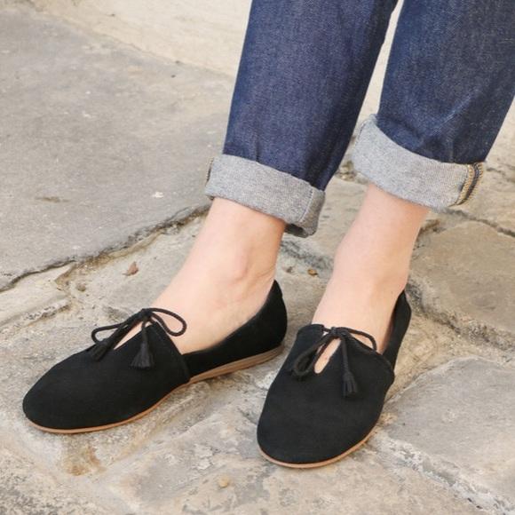 Toms Shoes | Toms Black Suede Kelli